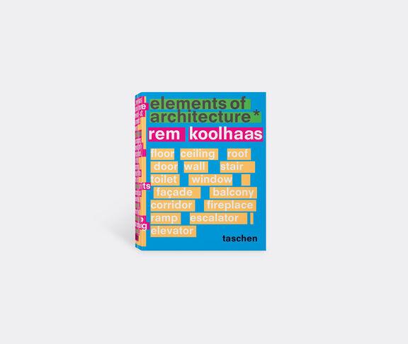 Taschen Koolhaas. Elements Of Architecture 1
