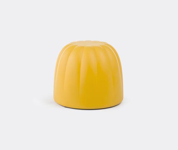 Slide 'Gelée' pouf, soft yellow
