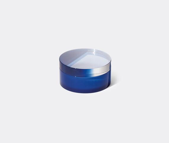 Poltrona Frau 'Plexi Case', low, midnight blue