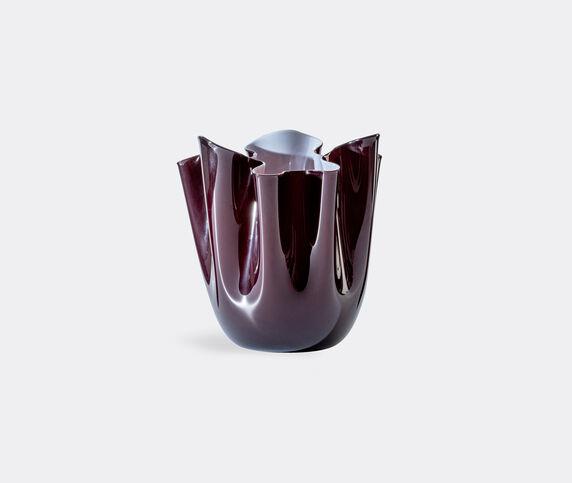 Venini 'Fazzoletto Opalino' vase, L, dark red
