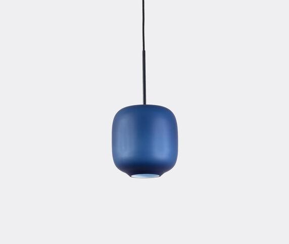 Cappellini 'Arya' hanging lamp, small, blue, UK plug