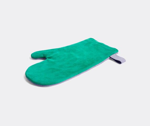 Hay 'Suede' oven glove, green