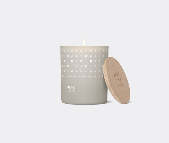 Skandinavisk 'Ro' scented candle with lid
