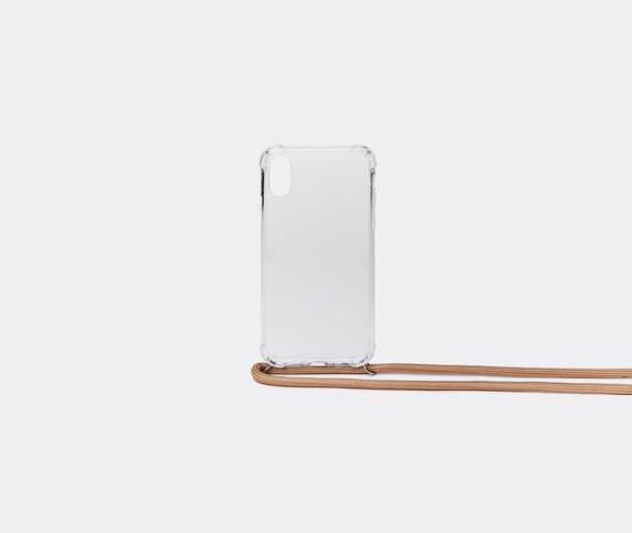 Wood'd iPhone X/Xs necklace case, beige