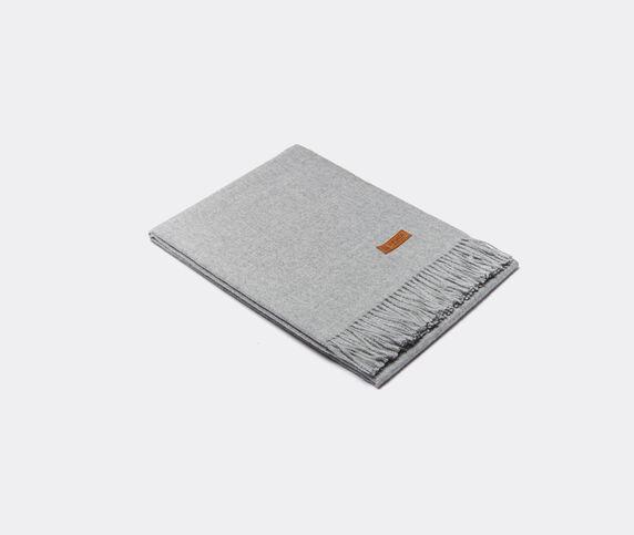 Innata 'Essential Plaid' blanket, light grey